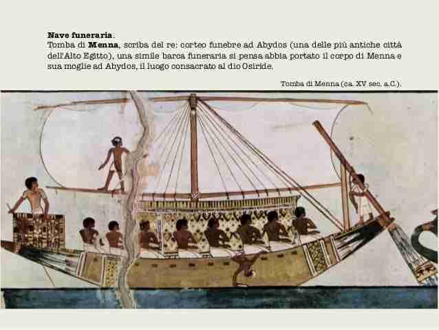 Nave funeraria egizia