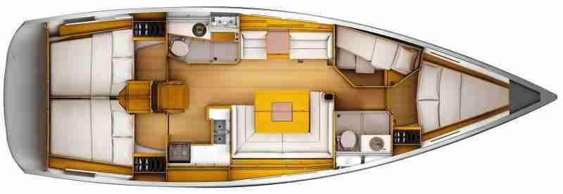 Sun Odyssey 449 - ARISAGHIA | Flotta di Vela Dream 2