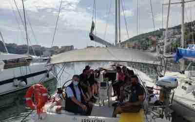 In barca a vela per l'autismo