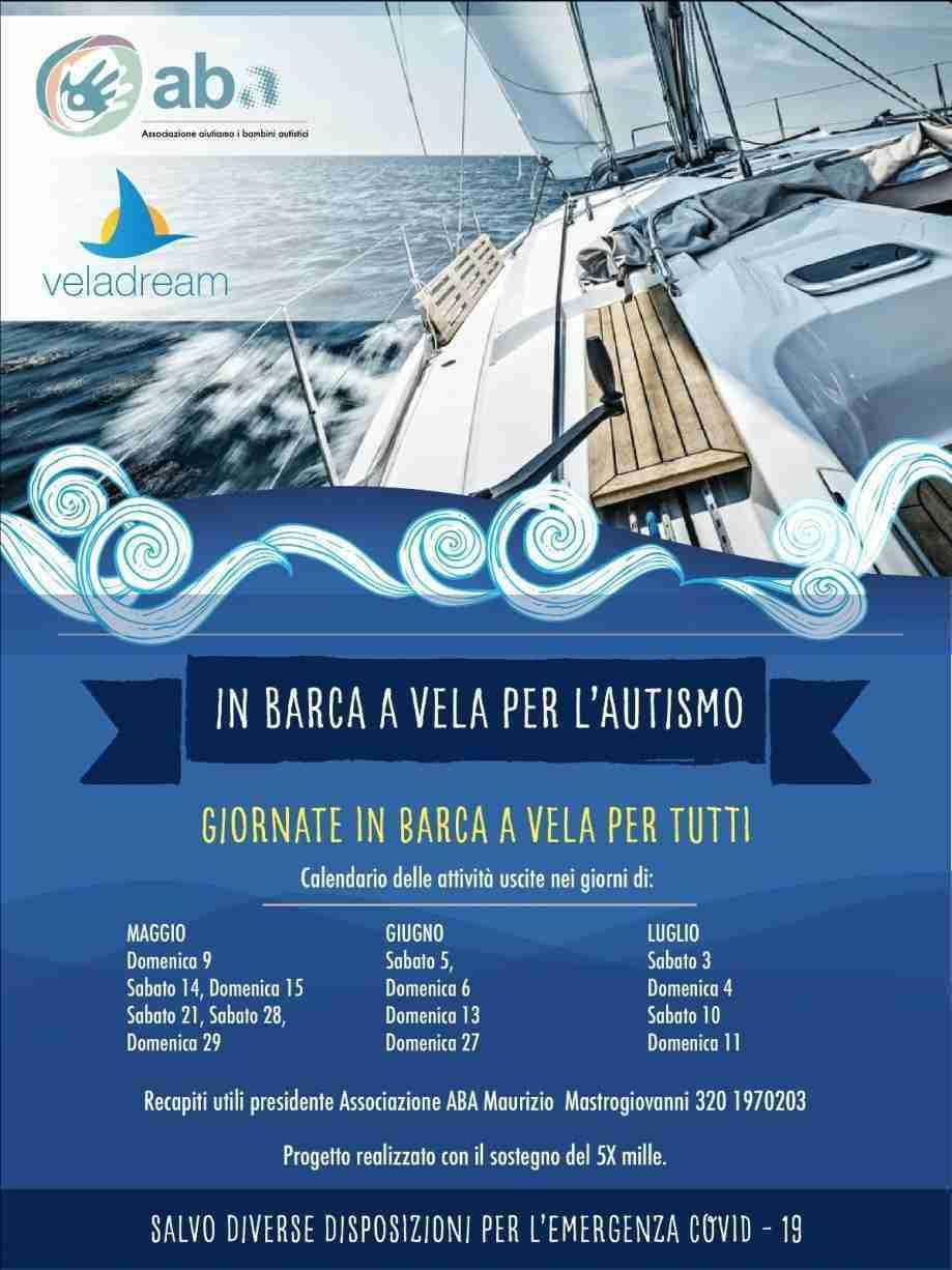 Locandina ABA - In barca a vela per l'autismo
